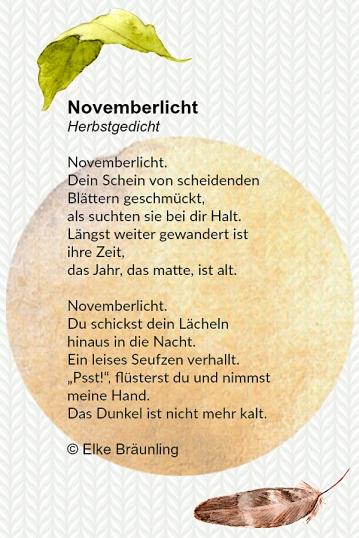 Novemberlicht